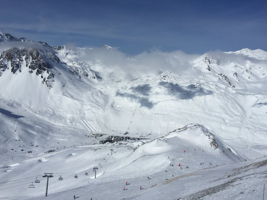 Val d'Isère - Bluebird day - ©PATRICK's iPhone