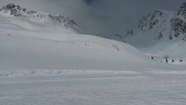 Bad Hofgastein-Bad Gastein – Skischaukel Schlossalm-Angertal-Stubnerkogel - Snow keeps falling.