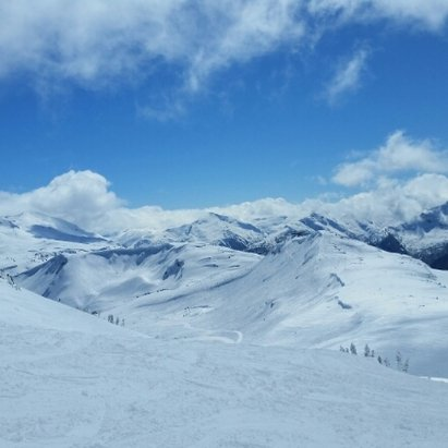 Whistler/Blackcomb - Great day at whistler. Tuesday powder and blue skies were amazing. Most was skied off by Wednesday but there were still good areas. Symphony amphitheater was the place to be.