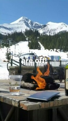 Big Sky Resort - Great spring skiing, but snow is going fast!