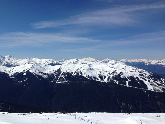 Whistler/Blackcomb - Season's over. Time to take your bikes out.