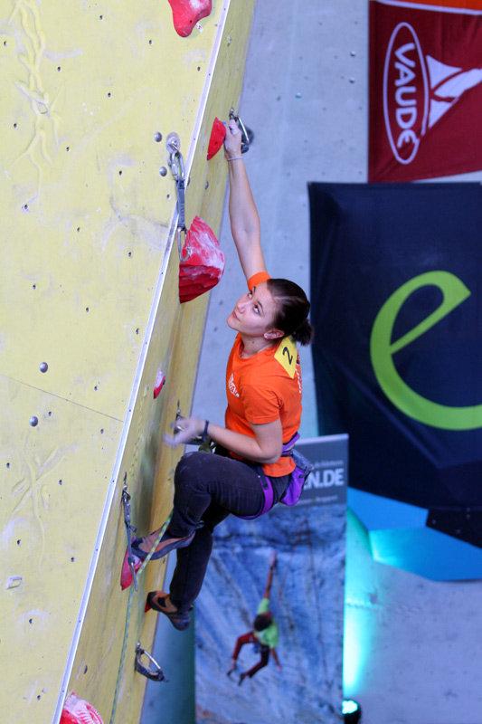 Lina Himpel belegte Rang sechs in Ingolstadt - ©bergleben.de