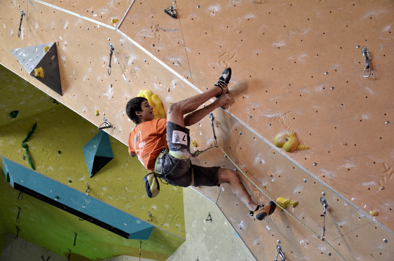David Firnenburg war gut drauf und kletterte auf Rang 2 - ©bergleben.de