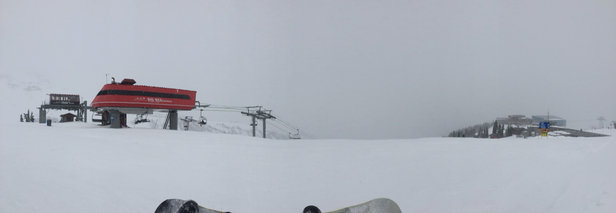 Whistler/Blackcomb - Good snow today