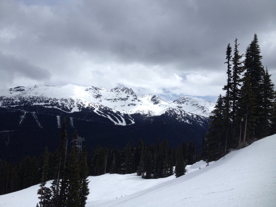 Whistler/Blackcomb - Great Spring conditions! Limited runs open but good day all around