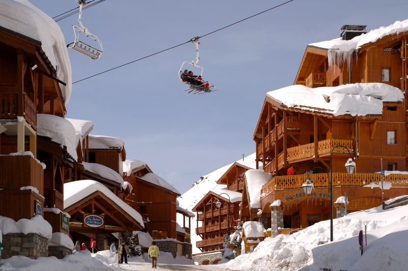 At 2,300m, Val Thorens is the highest ski resort in Europe - ©Val Thorens