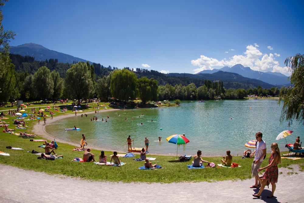 Baggersee in Innsbruck - ©Innsbruck Tourismus