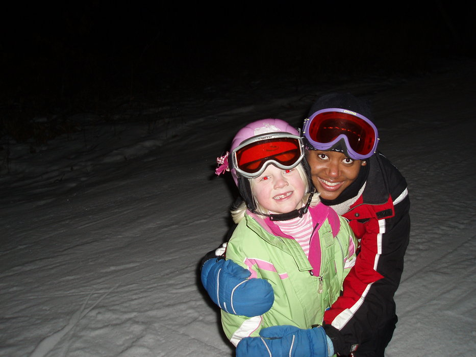 A pair of young women at Wild Mountain, MN