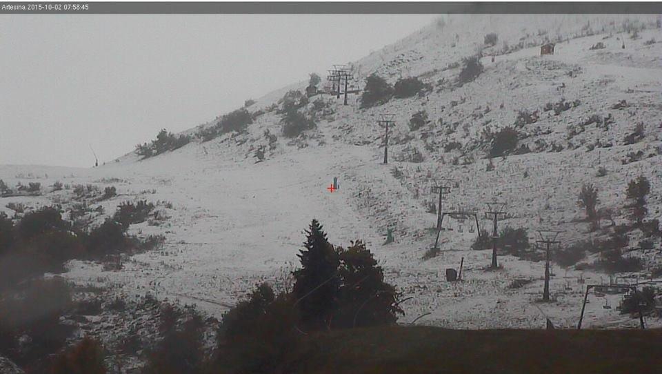 Artesina, Neve fresca 02.10.15 - ©Artesina Official Page FB