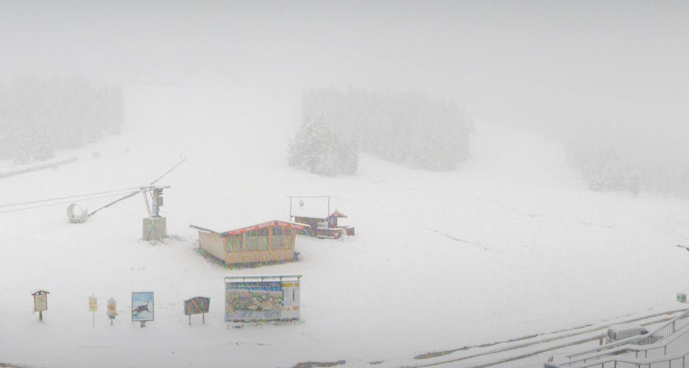 Whiteout in Zillertal (14.10.2015) - ©Facebook Zillertal Arena