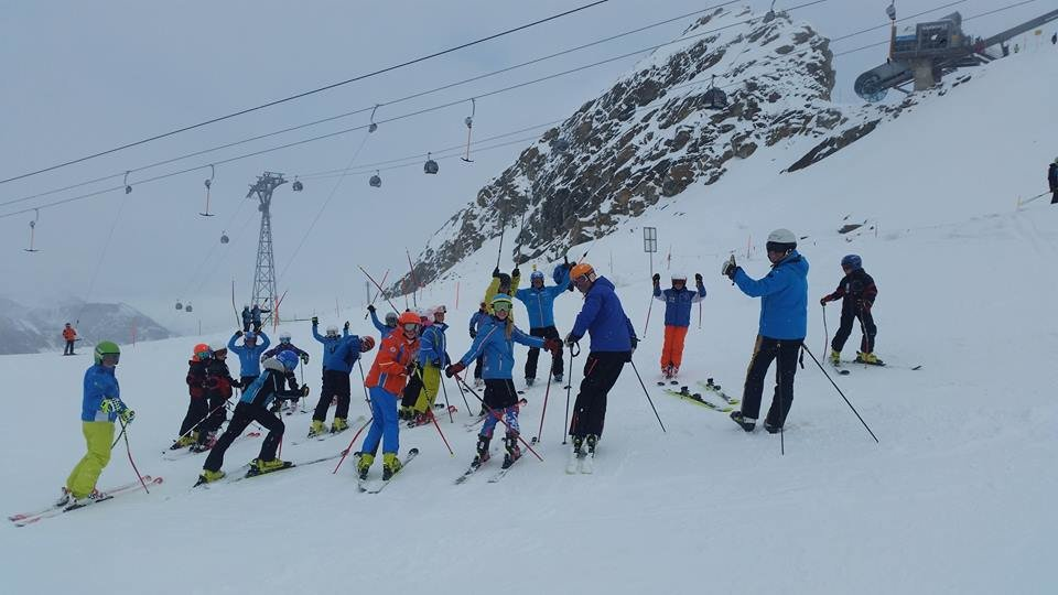 First day of skiing on the Kitzsteinhorn glacier 15.10.2015 - ©Kitzsteinhorn