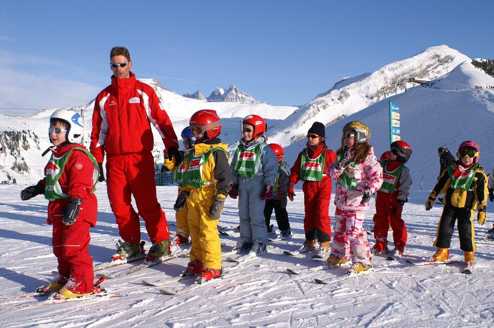 Kids' ski school, Chantal Bourreau/La Marmotte Bleue