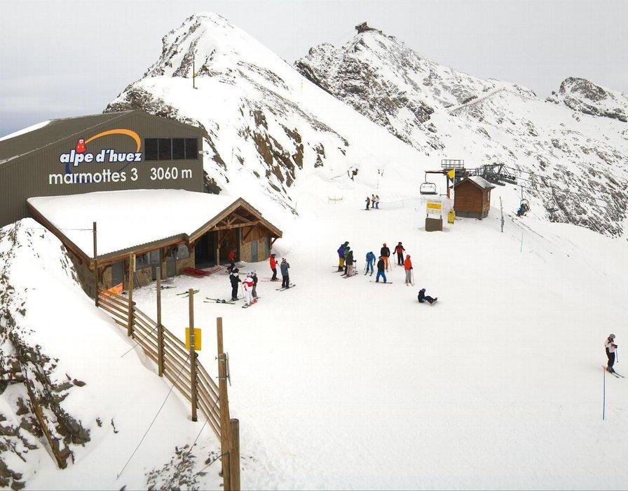 Alpe d'Huez am 3.1.2016