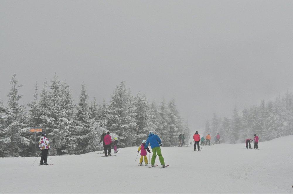 Dolní Morava 2.1.2016 - ©facebook Dolní Morava