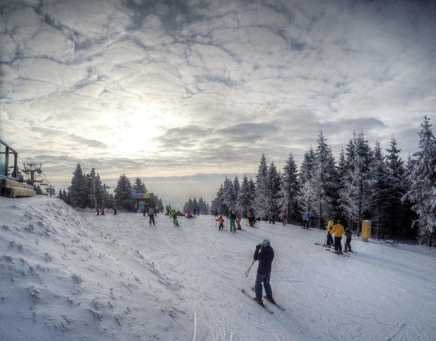 Říčky v Orlických horách 3.1.2016 - ©facebook Říčky