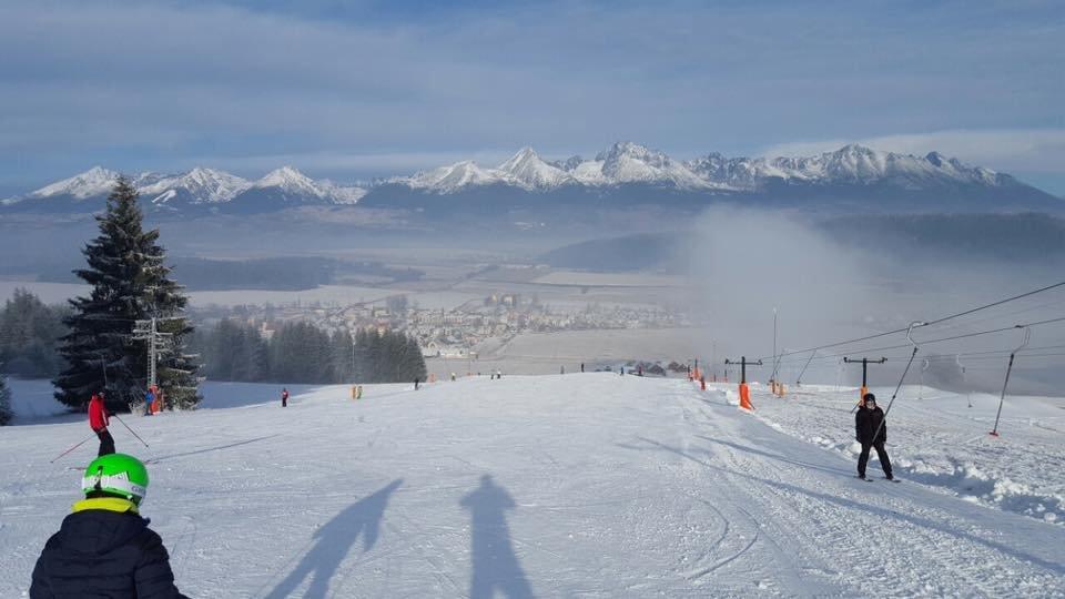 Snowpark Lučivná 6.1.2016 - ©Facebook Snowpark Lučivná