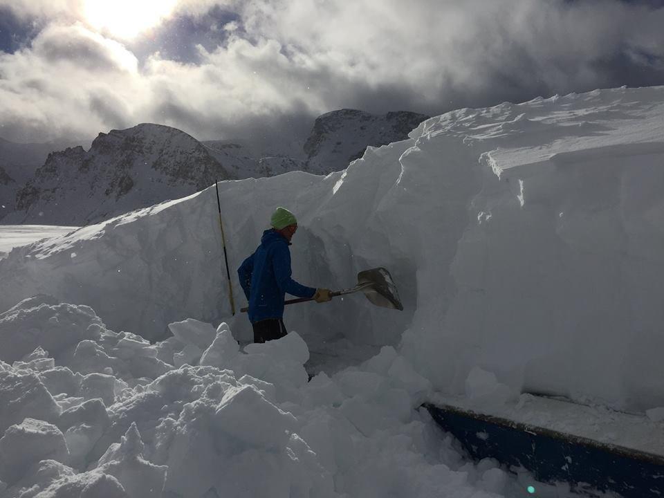 Tignes snowpark Jan. 6, 2016 - ©Tignes/Facebook