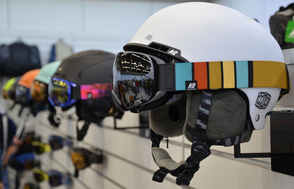 K2 helmen en goggles. - ©Skiinfo