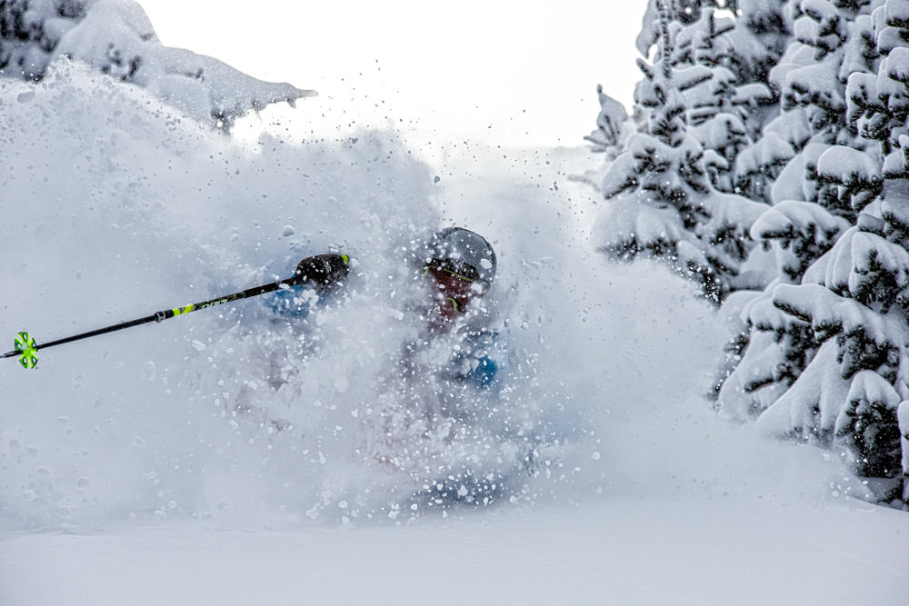 Here's where being in ski shape really pays off! - ©Liam Doran