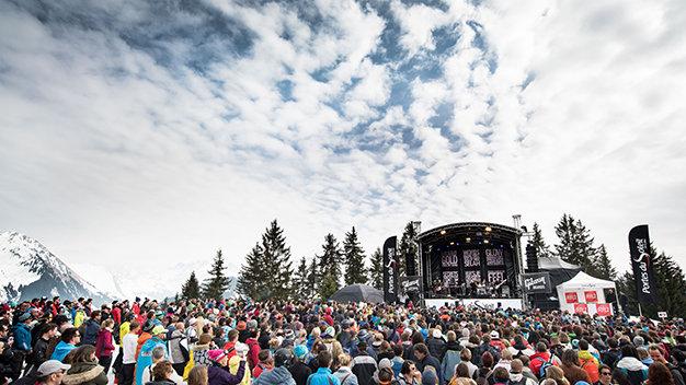 Free concerts on the Portes du Soleil's slopes - ©Les Gets - Les Portes du Soleil