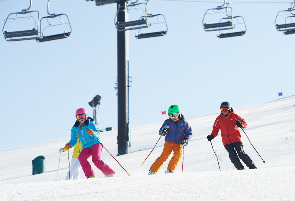Midwest skiing at its best at Michigan's Mt. Brighton. - ©Vail Resorts