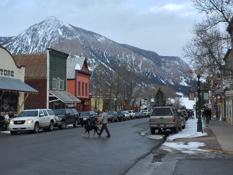 Crested Butte's renown town. - ©Krista Crabtree