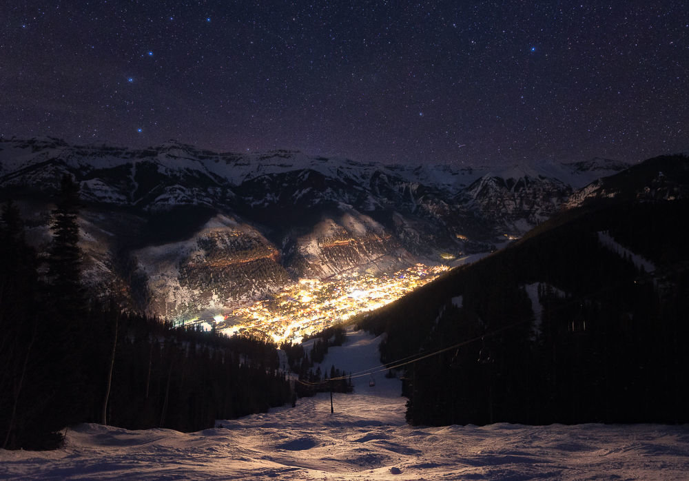 February & Overall winner: Anyone up for a late night Telluride bump run? - ©Vcize