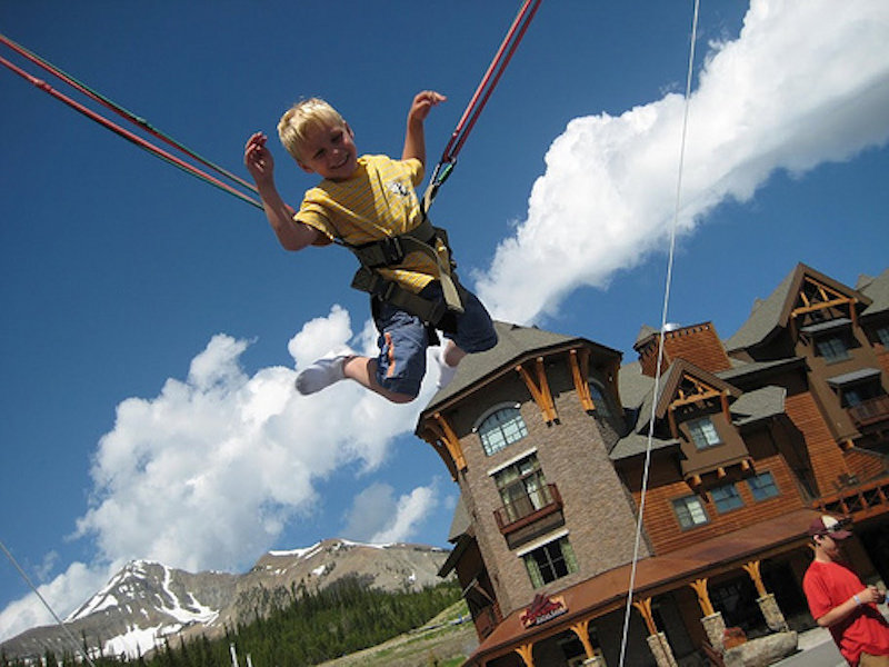 Best bets for kids families at 6 top resorts onthesnow for Swingvillage