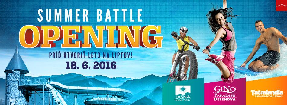 Summer Battle Opening - ©TMR, a.s.