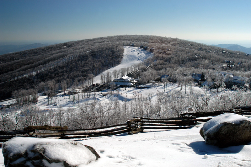 A view of Wintergreen Resort, Virginia