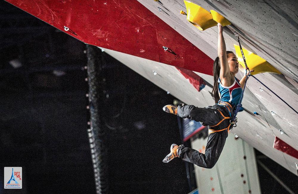 Halbfinale im Lead - ©FFME/Agence Kros - Remi Fabregue