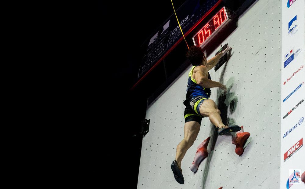 Impressionen aus dem Speed-Finale - ©FFME / Agence Kros - Remi Fabregue