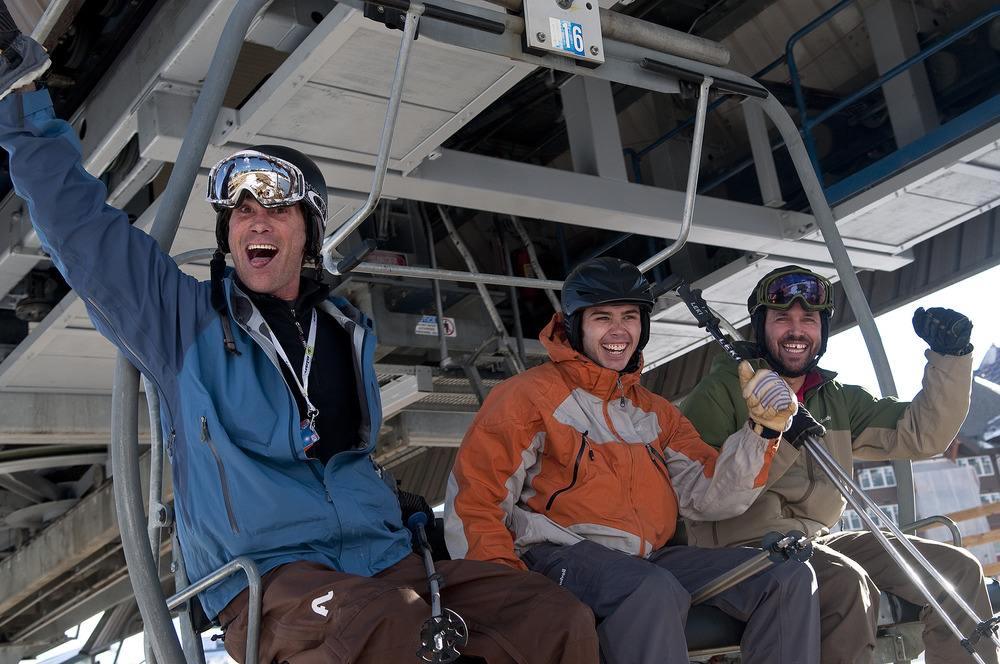 Opening day 2009 at Breckenridge, CO.