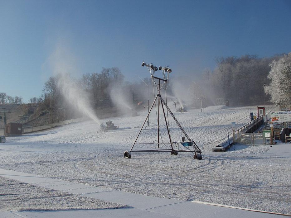 Wild Mountain, MN opening day, Nov 15, 2009.