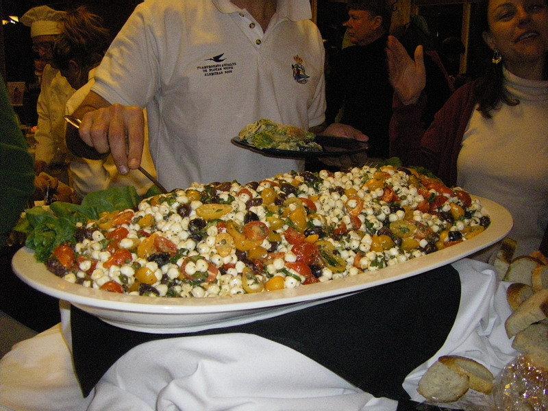 Buffet dish at Arapahoe Basin CO