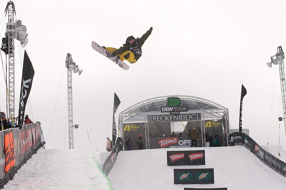 Danny Davis in Snowbasin UT Dew Tour