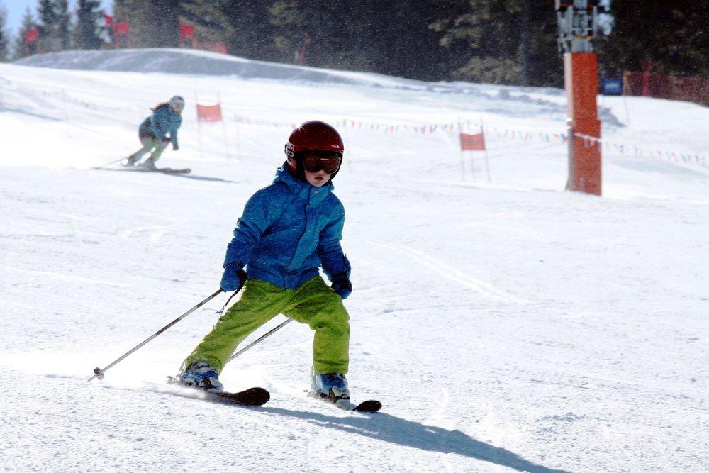 A little spunky skier on the slope... - ©Ski Bachledova