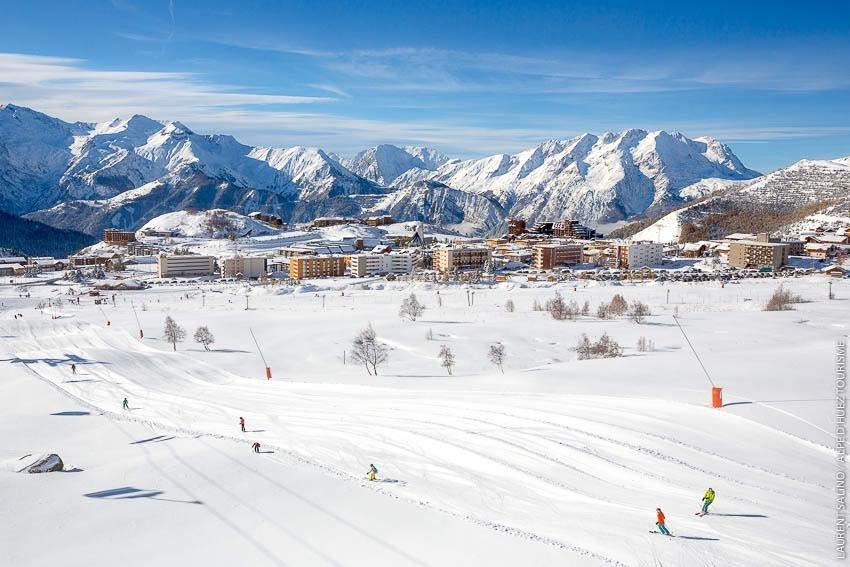 Alpe d'Huez open for skiing Nov. 12, 2016 - ©Alpe d'Huez
