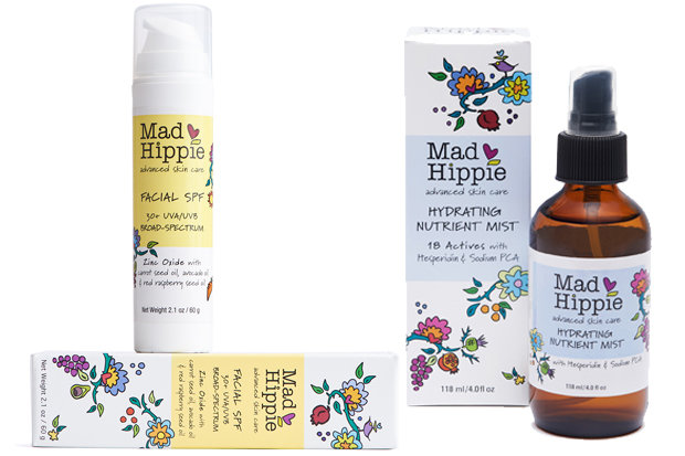 Mad Hippie Facial SPF & Hydrating Nutrient Mist: $24.99/$19.99 With ingredients decks reminiscent of a salad you should have had for lunch, these all-natural, plant-based, chemical-free products will help you achieve that healthy, goggle tan glow whether you're headed out into/have had a little too much sun. Having all the wisdom and experience of a weathered ski bum without the face to match? Sounds just about as unfair as it is awesome!