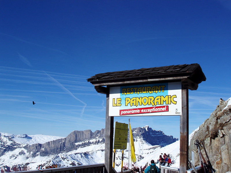 """Le Panoramic"" restaurant at Chamonix FRA"