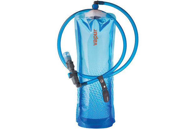 Vapur DrinkLink Hydration System: $29.99 This easy to transport hydration vessel will flatten down going through security and then offer up multiple configurations for drinking on the other side. Perfect for popping into a ski pack as a reservoir or even stowing away in your jacket's stash pocket with the traditional SuperCap.