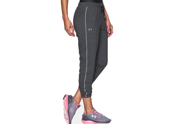 UA Favorite Jogger - Slim Leg: $54.99 Perhaps the only thing close to as good as hoisting off ski boots after a killer pow day is pulling on sweats before that fireside après libation. With UA's Charged Cotton Tri-blend fabric, these joggers have a soft, athletic feel for superior comfort and performance.