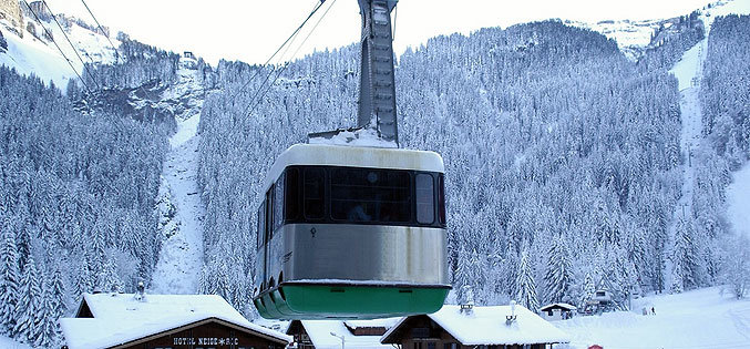 Morzine cable car, France