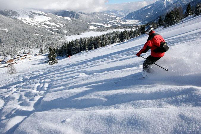 Zillertal_Skifahrer - ©Fügen-Spieljoch