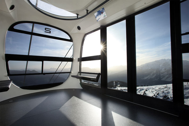 Zell am See, design gondola
