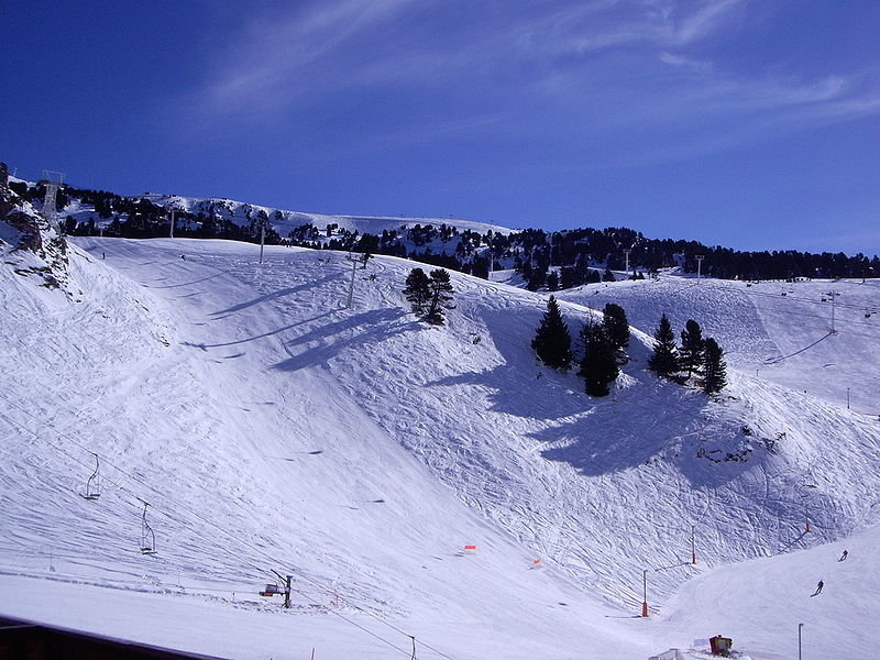 The slopes of Chamrousse, France. - ©Chamrousse