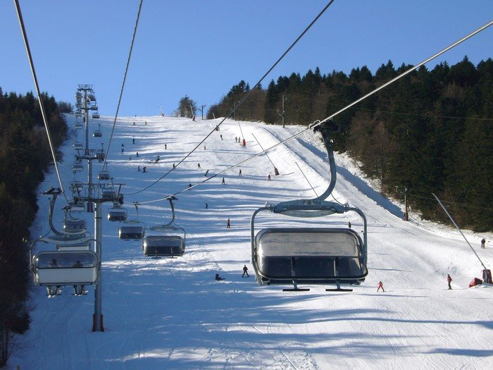 Slopes and chairlifts in Chalmazel