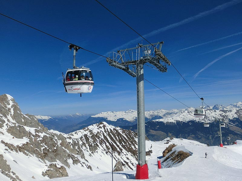 Skifahren in Courchevel