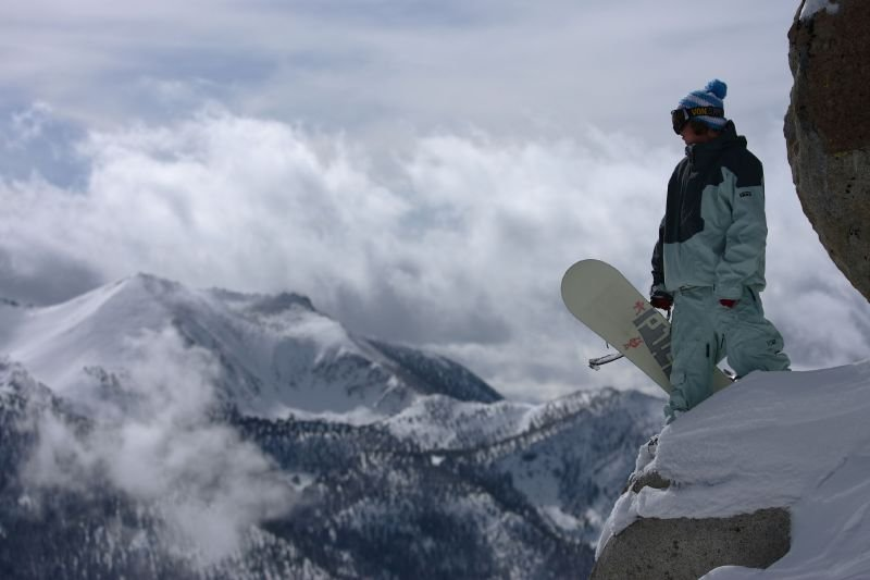 Nick Poohachoff at Heavenly Mountain Resort in South Lake Tahoe, California.