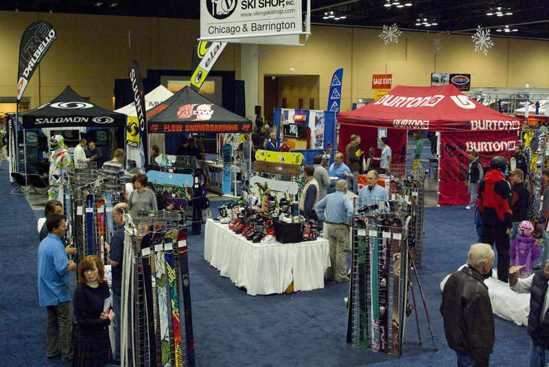 The largest consumer ski and snowboard show to hit the Midwest returns to Chicago on Oct. 19. Photo Courtesy of the Windy City Ski & Snowboard Show.